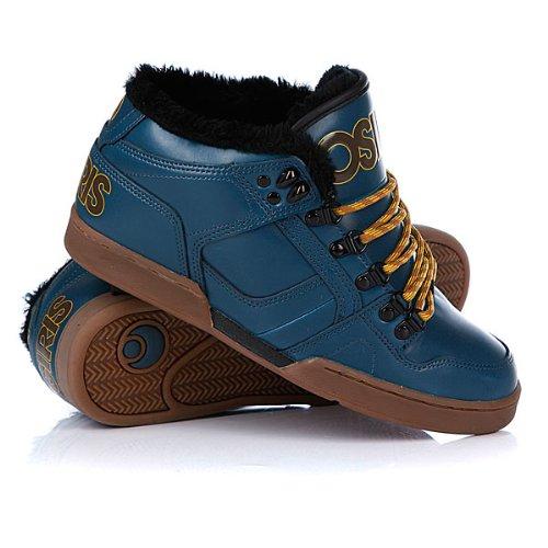 Zapatillas Osiris NYC 83 MID Azul-Negro talla 9.5: Amazon.es: Zapatos y complementos