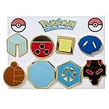 Pokemon Johto League Gym Badges / Pins Generation 2