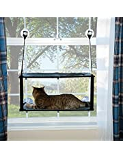 K&H Pet Products EZ Mount Kitty Window Sill, Gray, Double Stack