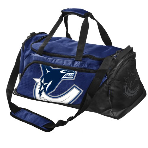 Forever Collectibles NHL Vancouver Canucks Medium Locker Room Duffle Bag by Forever Collectibles