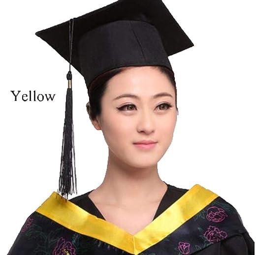 Generico VestitoTunica Costume Laurea Laureato Diploma Festa con Cappello  Colletto Toga  Amazon.it  Abbigliamento 792e2327e4d9
