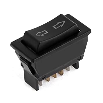 amazon com uxcell dc 12v momentary 5 pins dpdt power window uxcell dc 12v momentary 5 pins dpdt power window master switch for auto car