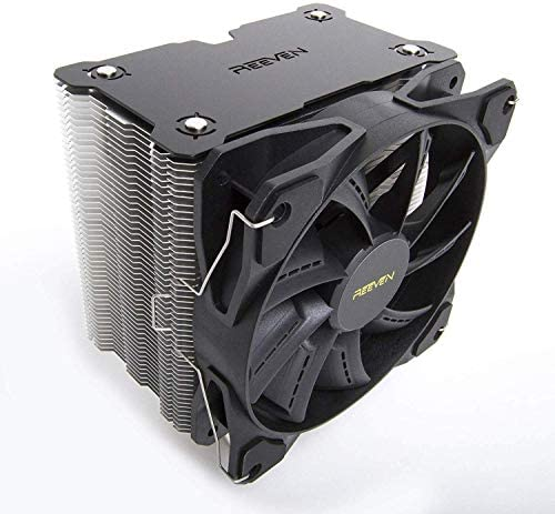 Reeven Justice II 120mm Air CPU Cooler, Tower Heatsink with 6 Heatpipes, Quiet PWM Fan, Intel 1151, AMD AM4/Ryzen