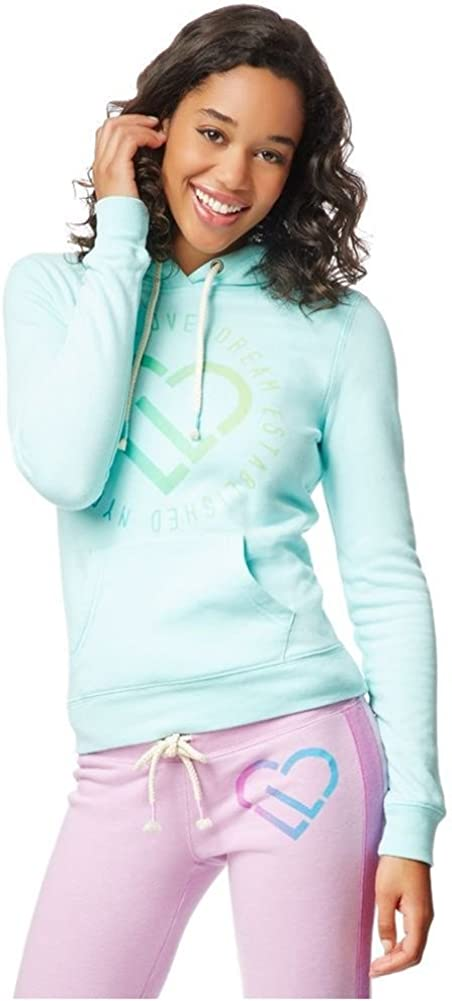 Aeropostale Womens LLD Circle Signature Popover Hoodie Sweatshirt
