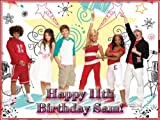 "Single Source Party Supply - High School Musical Edible Icing Image #2-8.0"" x 10.5"""