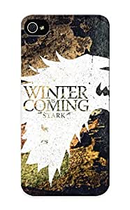 Diy Yourself case, Fashionable Iphone 6 4.7 case cover - Crest Game Of Thrones Winter Is Coming Direwolf House Stark FqeIjwXryjG Wolves