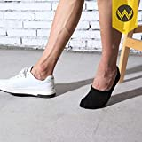 No Show Socks Mens 7 Pairs Cotton Thin Non Slip Low