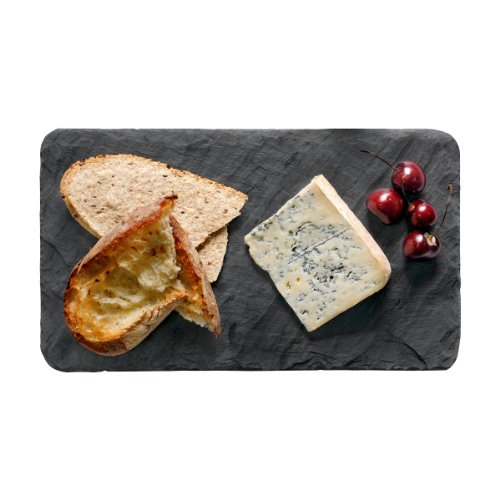 Artisan Black Slate Serving Slab and Board for Cheese