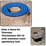 Thermax Therminator DV-12 25  hide a hose with standard upholstery wand
