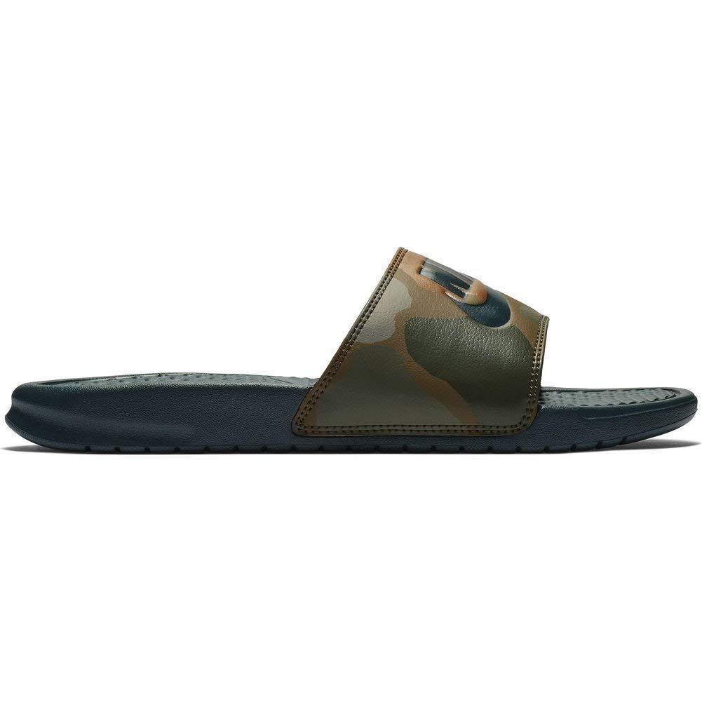 f7cc6b9a0 Galleon - Nike Benassi JDI Print Mens 631261-300 Size 14