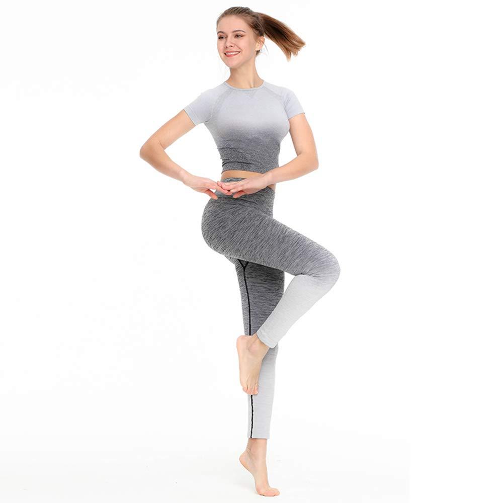 WARMTOWE Donna Sport Palestra Yoga Top Quick-Dry Maglia Lunga Felpa Fitness Esercizio Yoga Camicia Sport Corsa Bellezza Crop Top Abbigliamento Sportivo