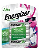 Energizer Rechargeable AA Batteries, NiMH, 2300 mAh, Pre-Charged, 8 count (Recharge Power Plus) - Packaging May Vary