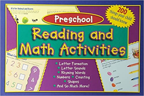 Kids Wide Activity Pad - Preschool: Reading and Math Activities ...