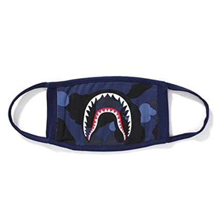 894a87e51a6d Amazon.com  1 PackCamping First Aid Kits Shark Face Mask (purple) (blue)   Health   Personal Care