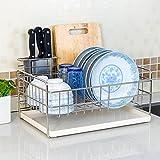 Hyun times Dimensional space frame 304 stainless steel single bowl dish rack Drain rack kitchen shelving rack dishes drip rack