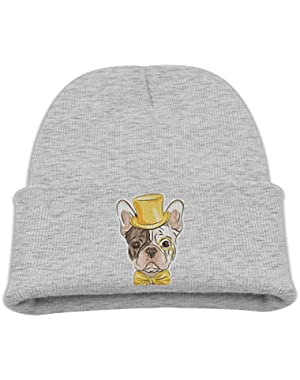 Dabbing Pug Unisex Baby Children Lovely Knit Beanie Cap