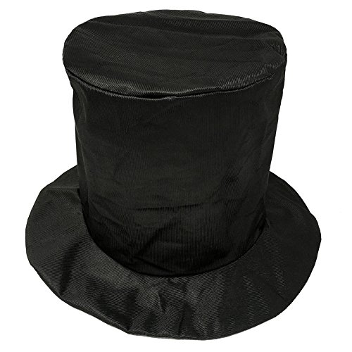 Child Shiny Black Top Hat ~ Fun New Year's, Costume, Birthday, Party (Fun Top Hats)
