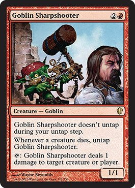 Magic: the Gathering - Goblin Sharpshooter (111/356) - Commander 2013