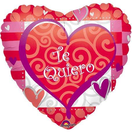 Schön Std Valentine U0026 Love Spanish Foil Balloons ProfitPak 25pk. Std Valentine U0026  Love Spanish Foil Balloons ProfitPak 25pk.
