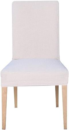 E EBETA Jacquard Fundas para sillas Pack de 6 Fundas sillas ...