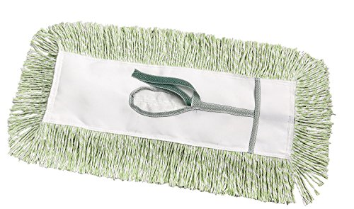 M2 Professional Micro-PET Dust Mop Head, Key Hole (Tie-On) Backing, 48-Inch x 5-Inch - Case of 6 - For Industrial Commercial & Home Uses, Perfect for Hardwood, Laminate, Concrete, etc.