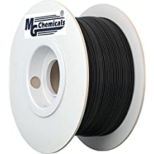 MG Chemicals PLA 3D Printer Filament, 1.75 mm, 1 kg, Black (IMPROVED)