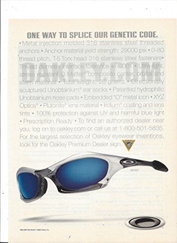 print-ad-for-2002-oakley-splice-one-way-to-splice-our-genetic-code