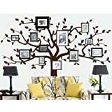 Family Tree Decal (Large Tree Decal - Frames and Photos not included)