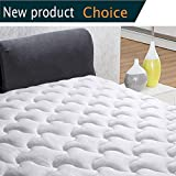 "INGALIK queen Size Mattress Pad Cover-Cotton Deep Pocket Fits Up to 8""-21"" Fitted Mattress Topper Snow Down Alternative Cooling mattress cover Hypoallergnic bed Topper"