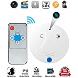 Hidden Camera Smoke Detector,Vipwind Smoke Detector with HD Spy Camera Motion Activated Video Recording RF Control Wireless Security Camera