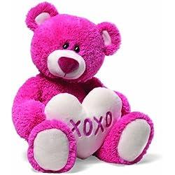 """Gund Valentine's Lovella Red Teddy Bear 16"""" Plush"""