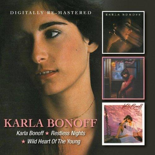 Karla Bonoff -  Karla Bonoff/Restless Nights/Wild Heart Of The Young