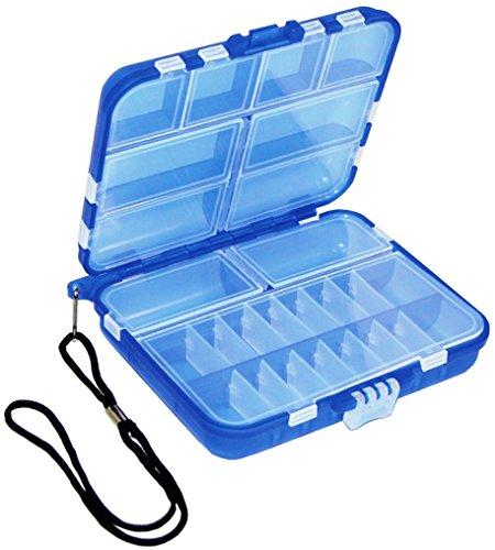 Beading Tools-Blue Mini Travel Box by Bead Craft