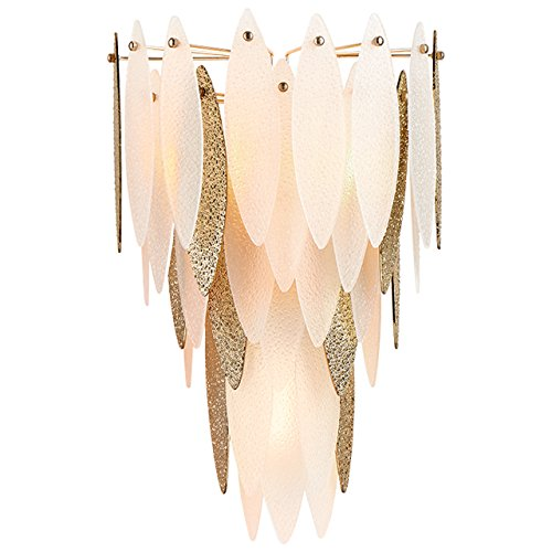 Cyan Design 08553 Vega 3 Light Wall Sconce in Satin Gold, (Rug Stores In Las Vegas)