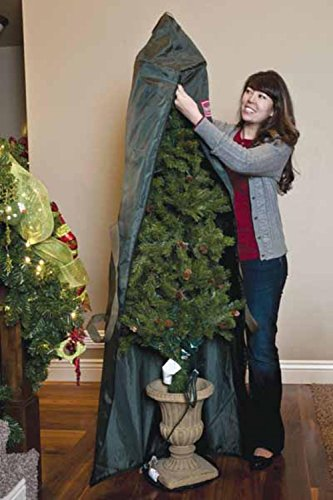 Green Foyer Christmas Tree Protective Storage Bag - Holds 4 to 6 Foot Trees