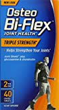 Osteo BiFlex Triple Strength Glucosamine Chondroitine Joint Supplement, 40 Count