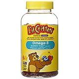 L'il Critters Omega-3 Vitamin Gummy Fish, 120 Count