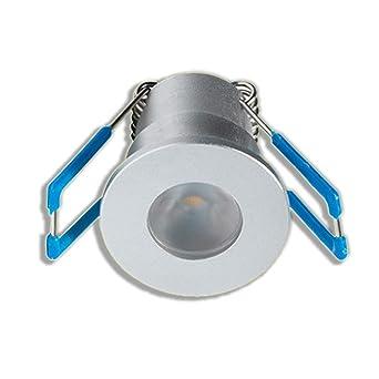 Hervorragend KÖNIG LED Mini Einbaustrahler 1W Dimmbar mit Fernbedienung, IP65 US97