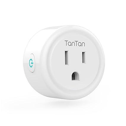 Smart Plug Tantan Wi Fi Wireless Mini Socket Outlet Works With