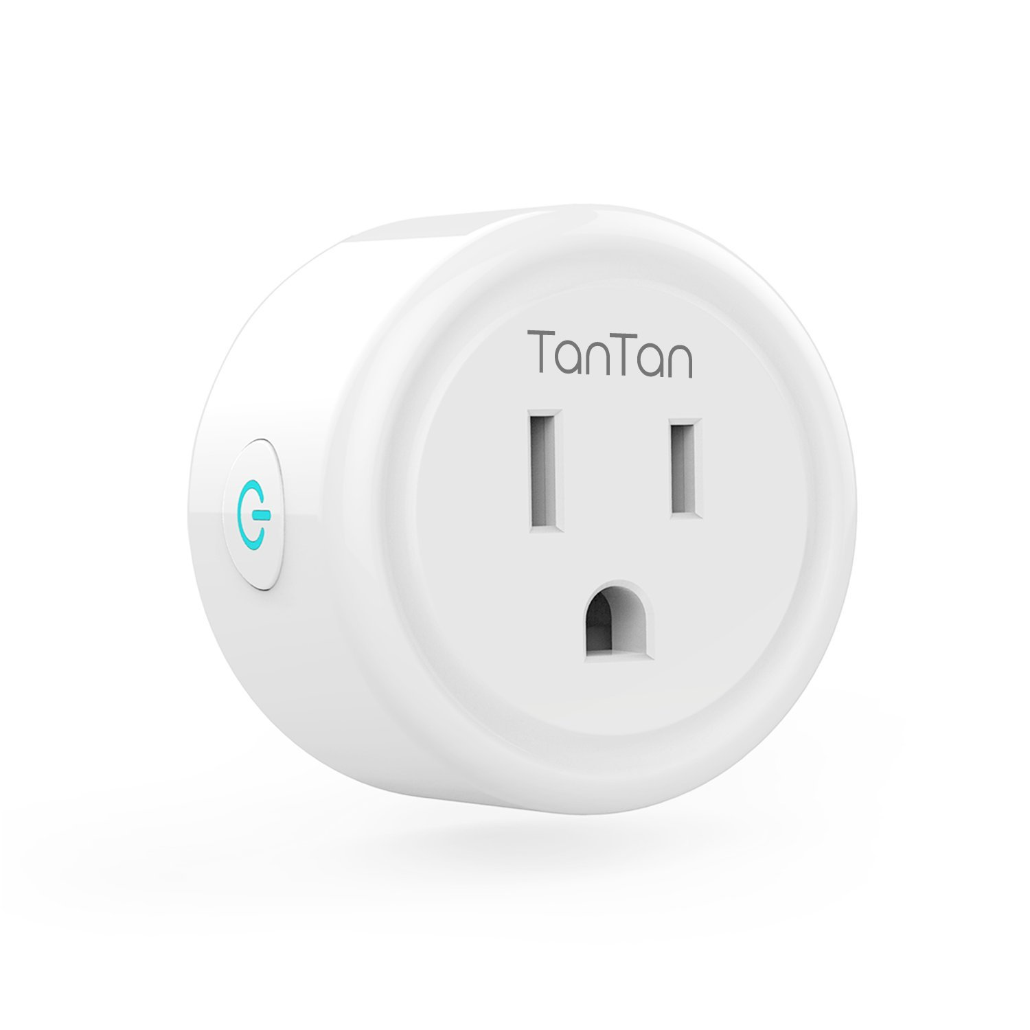 Smart Plug TanTan Wi-Fi Wireless Mini Socket Outlet Works with Amazon Alexa and Google Home & IFTTT, No Hub Required, Remote Control Your Devices from Anywhere, ETL Listed [Upgraded Version] by TanTan (Image #1)