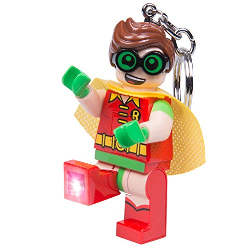 LEGO Batman Movie - Robin LED Key Chain - Lego Batman Keychain