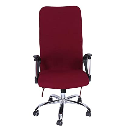 Home & Garden Home Textile Fashion Checked Computer Office Chair Cover Side Print Arm Chair Cover Seat Slipcover Stretch Rotating Lift Chair Covers
