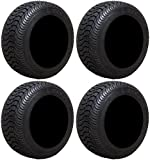 Full set of Arisun Cruze AT21 205x50-10 (4ply) DOT Golf Cart Tires (4)