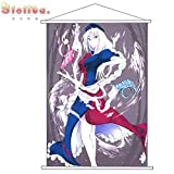 PAMP133 TouhouProject Peach Skin Velvet Wall Scroll Poster Print 100cm*70cm