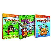 Paquete de preescolar 1: Campos formativos, Matemáticas e Inglés para Preescolar