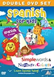 Spanish for Kids DVD Set: Simple Words & Number and Colours (Spanish and English)