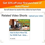Keto Fast Pills For Weight Loss - Feel the Keto Max Burn - Thermogenic and Nootropic Supplement - Keto Fire - Ketogenic Fat Burner for Mental Focus Clarity and Fuel - Caspimax, Fucoxanthin and More