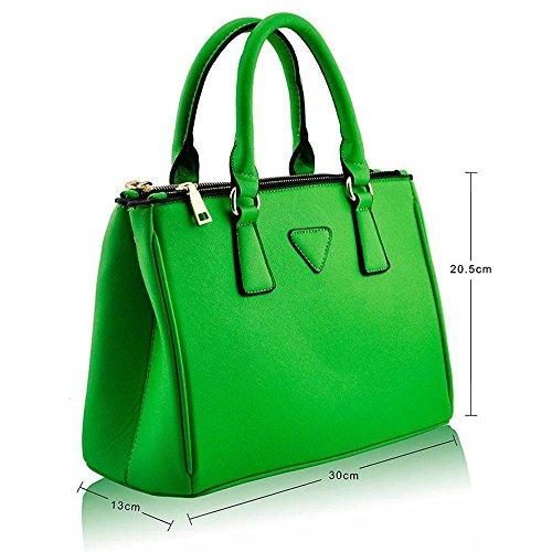 TrendStar - Bolso al hombro para mujer D - Green