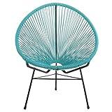 Joseph Allen Home PV-ML-BL Acapulco Lounge Chair in Blue