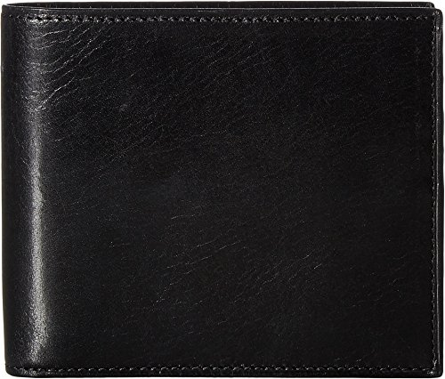 Bosca Men's Old Leather Collection - Credit Wallet w/I.D. Passcase Black One Size